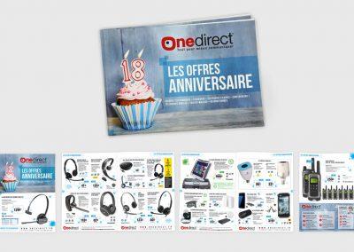 Catalogue tabloïd grand format pour présenter ses produits aux clients. Graphiste en Gironde, Bordeaux.