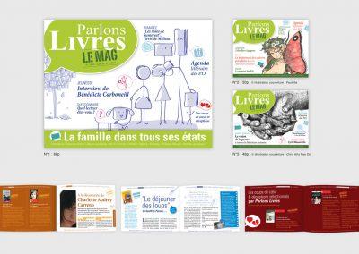 Création graphique et mise en page d'un magazine numérique culture pour une diffusion sur internet. graphisme. illustration. Graphiste en Gironde, Bordeaux.