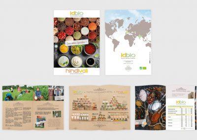 Catalogue produits d'épicerie haut de gamme. Graphiste en gironde, Bordeaux.