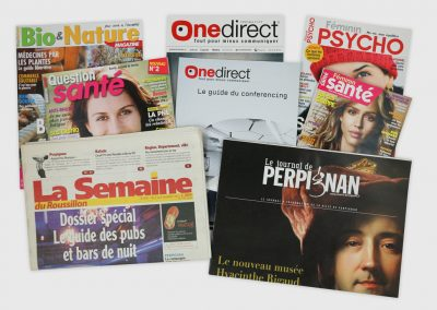 Magazines, catalogues et journaux